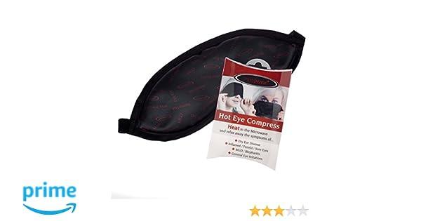 La máscara de ojo - Un Ojo caliente bolsa de la compresa de calor para el ojo seco, blefaritis, MGD y otras enfermedades de los ojos: Amazon.es: Salud y ...