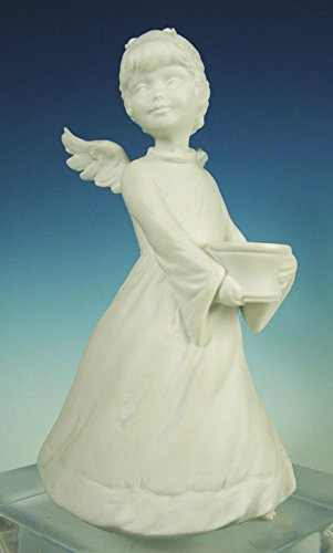 Kaiser - Fine Porcelain Bisque - Standing Angel for sale  Delivered anywhere in USA
