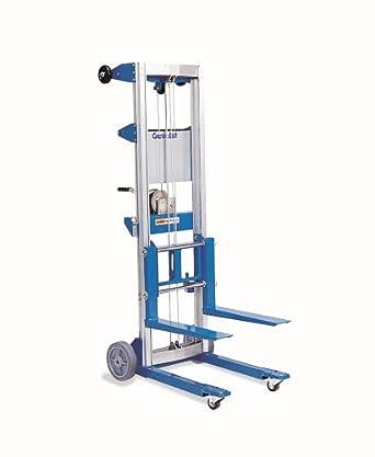"Genie Lift, GL- 8, Heavy-Duty Aluminum Manual Lift, 400 lbs Load Capacity, Lift Height 10' 0.5"""
