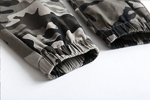 LOKTARC Boys Pull On Jogger Pants Camo Print Cuff Jogging Bottoms Grey(Regular Fit) 13-14T by LOKTARC (Image #5)
