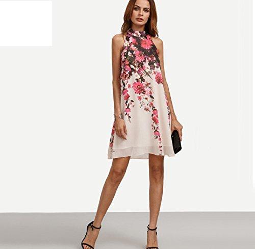 Mode Flora D'été 2017 Robe De dress Courte 36 Multicolore Cocktail Soirée 0cCdqFw
