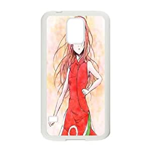 Samsung Galaxy S5 Cell Phone Case White Spread the Sakura Love M1K6WU