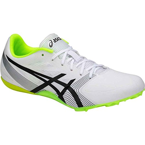 ASICS Hypersprint 6 Shoe Men's Track White/Black/Safety Yellow choice clearance high quality YLLyPIk