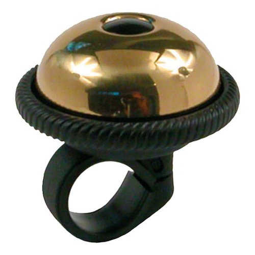 Mirrycle Incredibell Saturn Bicycle Bell (Brass)