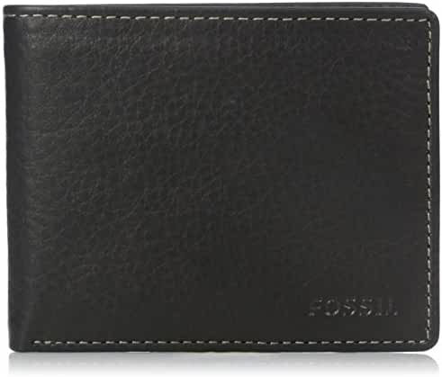 Fossil Men's Lincoln Bifold Wallet with Flip ID Window