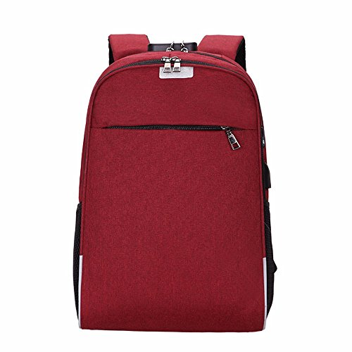 da per tendenza Borsa stoffa da Oxford red viaggio viaggio tracolla da a di computer il viaggio LMDSG uomo borsa capacità gioventù borsa moda di grande libero tempo rosso YxwOP