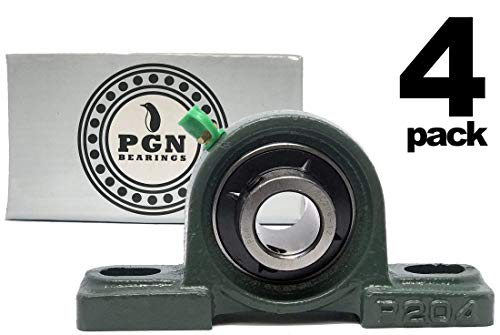 (PGN - UCP204-12 Pillow Block Mounted Ball Bearing - 3/4