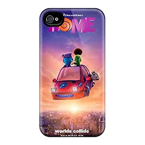 AlissaDubois Iphone 4/4s Shock Absorbent Hard Phone Case Allow Personal Design Lifelike The Croods Series [kgv19841FvNu]