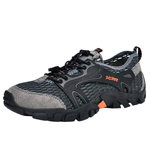 Dyeables Mid Heel Heels - YOcheerful Men's Casual Flat Shoes,Outdoor Water Shoes Pool Beach Swim Comfort Walking Travel Shoe