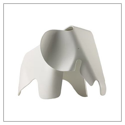 (Vitra Eames Elephant, Color = White)