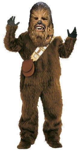 Kinder Kostüm Chewbacca Star Wars Haloween Verrückte Verkleidung für Jungen und Mädchen 3-10 Jahre - Braun, 8-10 Jahre