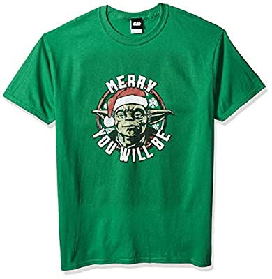 Star Wars Officially Licensed Believe You Must Men's Tee,