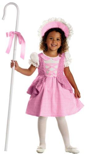 Lil' Bo Peep Toddler Costume - Large (4-6) (Toddler Bo Peep Costume)