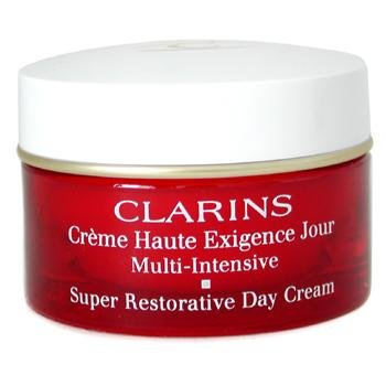 Clarins by Clarins - Super Restorative Day Cream--50ml/1.7oz - WOMEN Complete Facial Cleansing Pre-Wet Towelettes Charcoal - 30 Towelette(s) by The Creme Shop (pack of 6)