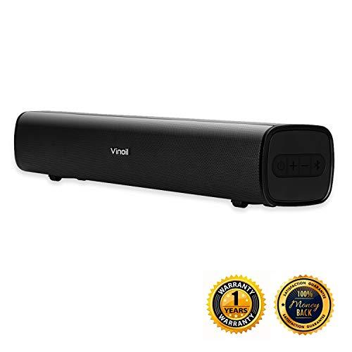Vinoil Bluetooth Sound Bar for PC, Desktop, Laptop and Gaming Monitor, 20W Speaker