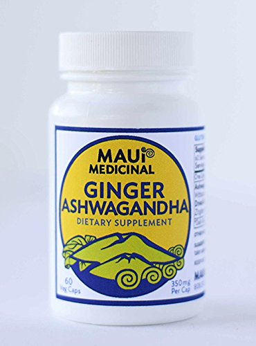 "Ashwagandha & Ginger 60 V-caps""Hawaiian"" For Sale"