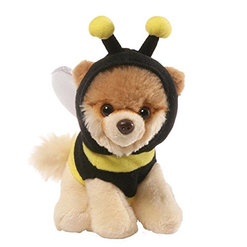 [Gund Itty Bitty Boo Bee Costume Stuffed Dog Plush] (Bear Dog Costume)