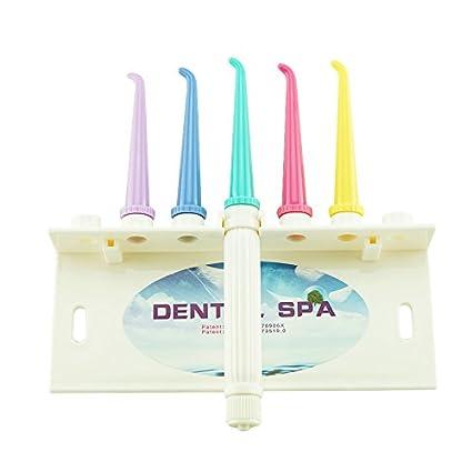 Denshine Irrigador oral portátil, limpiador de dientes mediante chorro de agua
