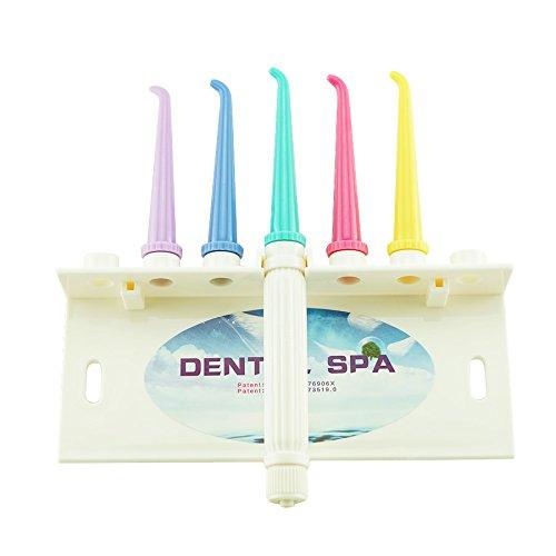 Denshine Irrigador oral portátil limpiador de dientes mediante chorro de agua