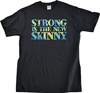 Strong is the new skinny crossfit workout for Funny crossfit t shirts