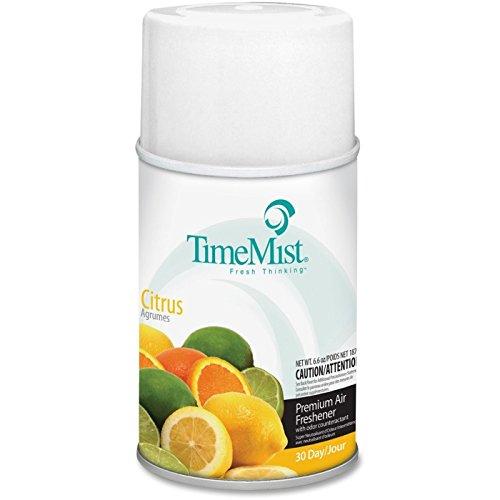 (Amrep 1042781EA Metered Fragrance Dispenser Refill, Citrus, 6.6oz, Aerosol)