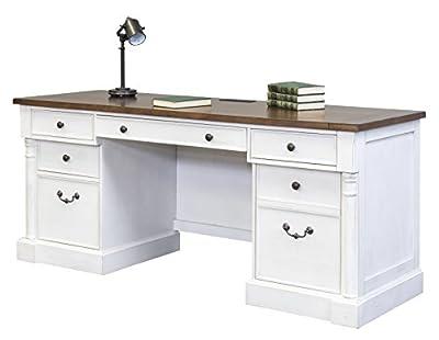 "Martin Furniture IMDU689 Durham 70"" Desk Credenza"