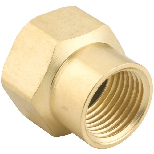 Gilmour 1/2-Inch Brass Double Female Hose Connector - Sprinkler Gilmour Brass