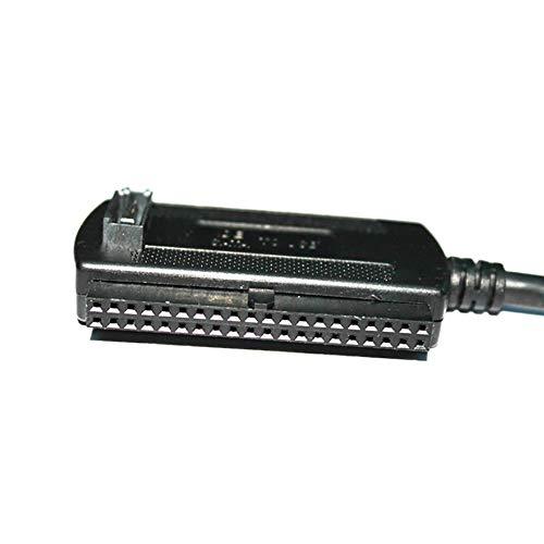 Panamami SI11 Durable Use USB 3.0 a SATA IDE 3.5 Pulgadas 2.5 Pulgadas Controlador de Disco Duro SSD Adaptador Cable convertidor de Cable Conjunto Negro