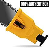 Chainsaw Teeth Sharpener, Universal Chainsaw Sharpener Fast Sharp Sharpening Stone Grinder Tool Fit for 14' 16' 18' 20' Two Hole Chain Saw Blade Sharpener