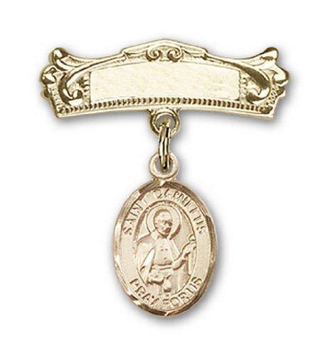 Icecarats Or Bijoux De Créateurs Rempli R. Camille De Lellis Charme Broches Badge Arc 7/8 X 3/4