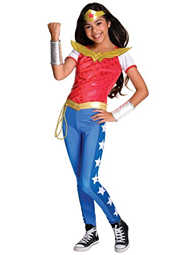 Rubie's Costume Kids DC Superhero Girls Deluxe Wonder Woman Costume, Large