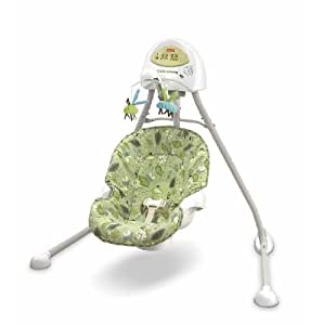 Fisher-Price Cradle 'n Swing, Scatterbug (Discontinued by Manufacturer)