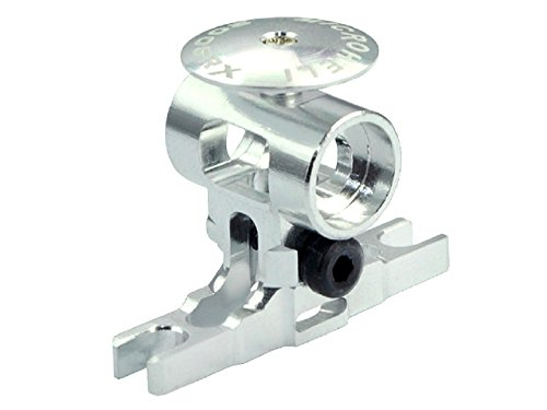 Precision CNC AL Main Rotor Hub w/ Button: 200SRX