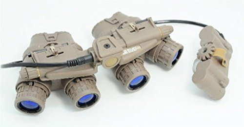 Airsoft DUMMY Quad Night Vision Goggles GPNVG-18 NVG - TOY (not real)