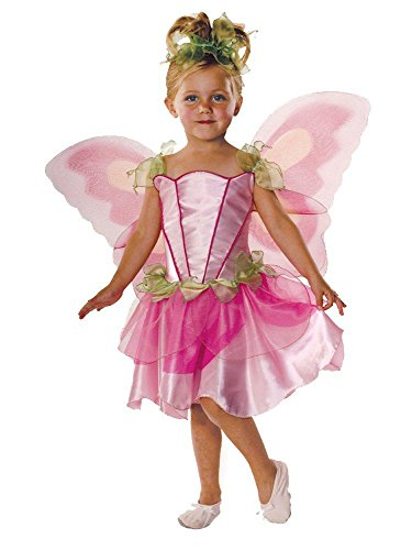 Let's Pretend Child's Springtime Fairy Costume with Wings, -