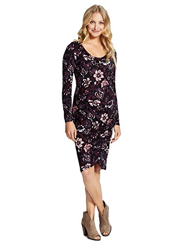 2717d32414da Jessica Simpson Floral Ruched Maternity Dress - Buy Online in UAE ...