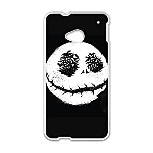 HTC One M7 Cell Phone Case White KING OF HALLOWEEN Ynwit