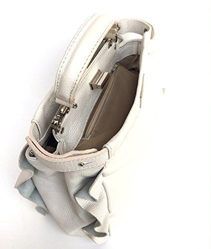 Superflybags Pelle Beige Vera Bag Donne Tote M rqr8Y5