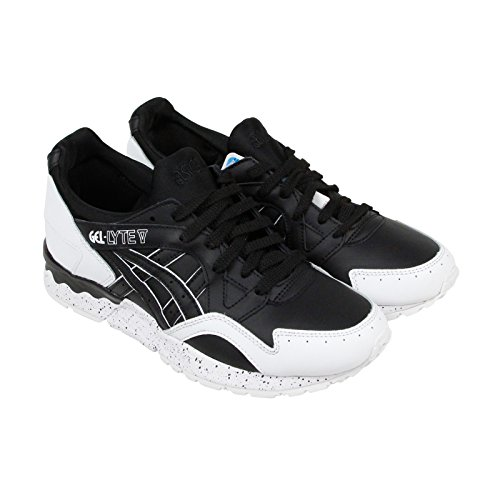 ASICS Men's Gel-Lyte V Fashion Sneaker, Black, 7 M US
