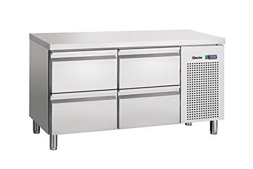 Table réfrigérée ventilée, 4 tiroirs