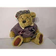 """Pickford Brass Button Sherwood Bear in Sweater and Glasses 11"""""""