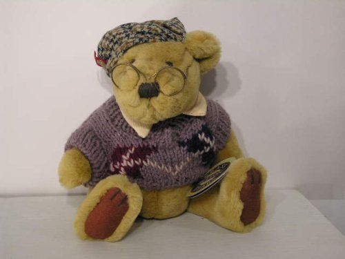 Pickford Brass Button Sherwood Bear in Sweater and Glasses - Tempe Malls