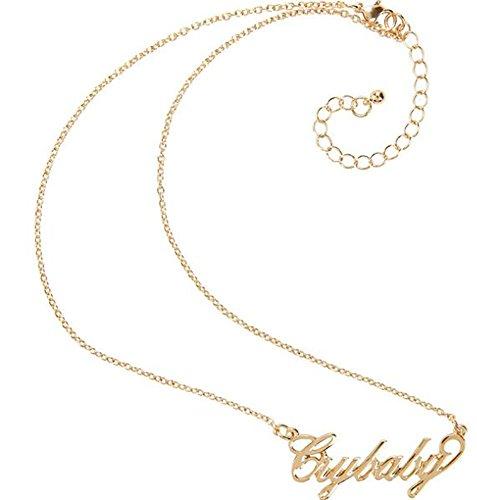 Crybaby Nameplate Necklace Melanie Martinez