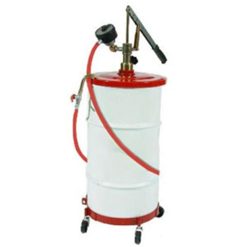 National-Spencer 1208 Gear Lube Pump with Meter, Hose, Dolly and Cover for 16 gal Drum by National-Spencer, Inc.