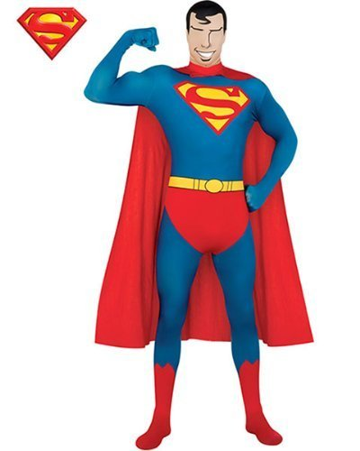 Rubie's rubies costume co r880520-m mens superman skin suit adult costume