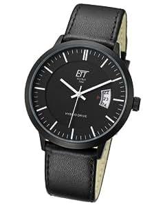 ECO Tech time ETT Herren-reloj Hybrid Drive analógico automático piel EGS-40240-21L