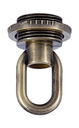 (B&P Lamp Antique Brass Die Cast Screw Collar Loop)
