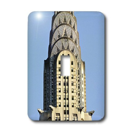 3dRose LLC lsp_10266_1 The Chrysler Building Is An Art Deco Skyscraper In New York City, Located On The East Street, Single Toggle Switch -