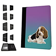 1507 - Cool Fun Trendy Cute dog hound pets collage animals kwaai Design Amazon Kindle Fire 7'' 5TH Generation (2015 Release Only) Fashion Trend TPU Leather Flip Case Protective Purse Pouch Book Style Defender Stand Cover