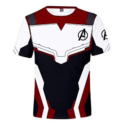 Dark Eyes Superhero Adult 3D Sweatshirt Sport Suit Cosplay Costume White